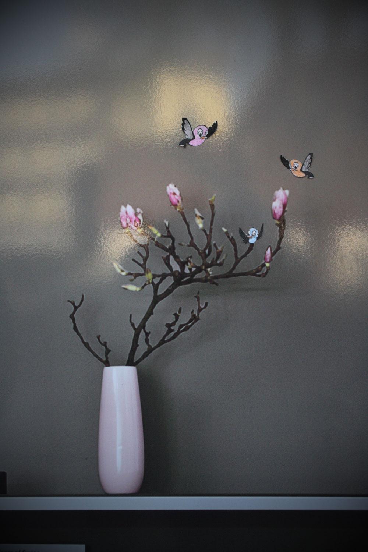 Vögel_Vase